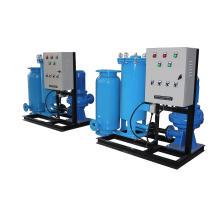 Système de nettoyage en ligne de tube d'éponge de condenseur