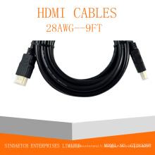 Câble HDMI haute vitesse 1.4V
