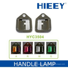LED lâmpada lâmpada decorativa 12V LED chapeamento lâmpada com base de ABS