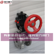 Válvula de esfera de porta V para indústria de tratamento de água