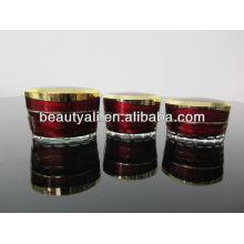 15ml 30ml 50ml Tapered Diamond Cosmetic Acrylic Eye Cream Jar