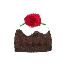 16FZCB11 jacquard knitting christmas beanie hat