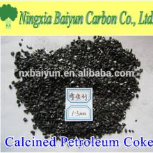 Schwefelarmer 99% Calcined Petroleum Coke Lieferant in China