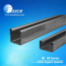 Canal do suporte de aço suave / canal U (certificado pela UL)