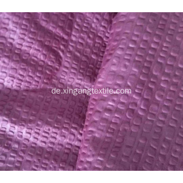 100% Polyester Mikrofaser Seersucker Sheet Fabric