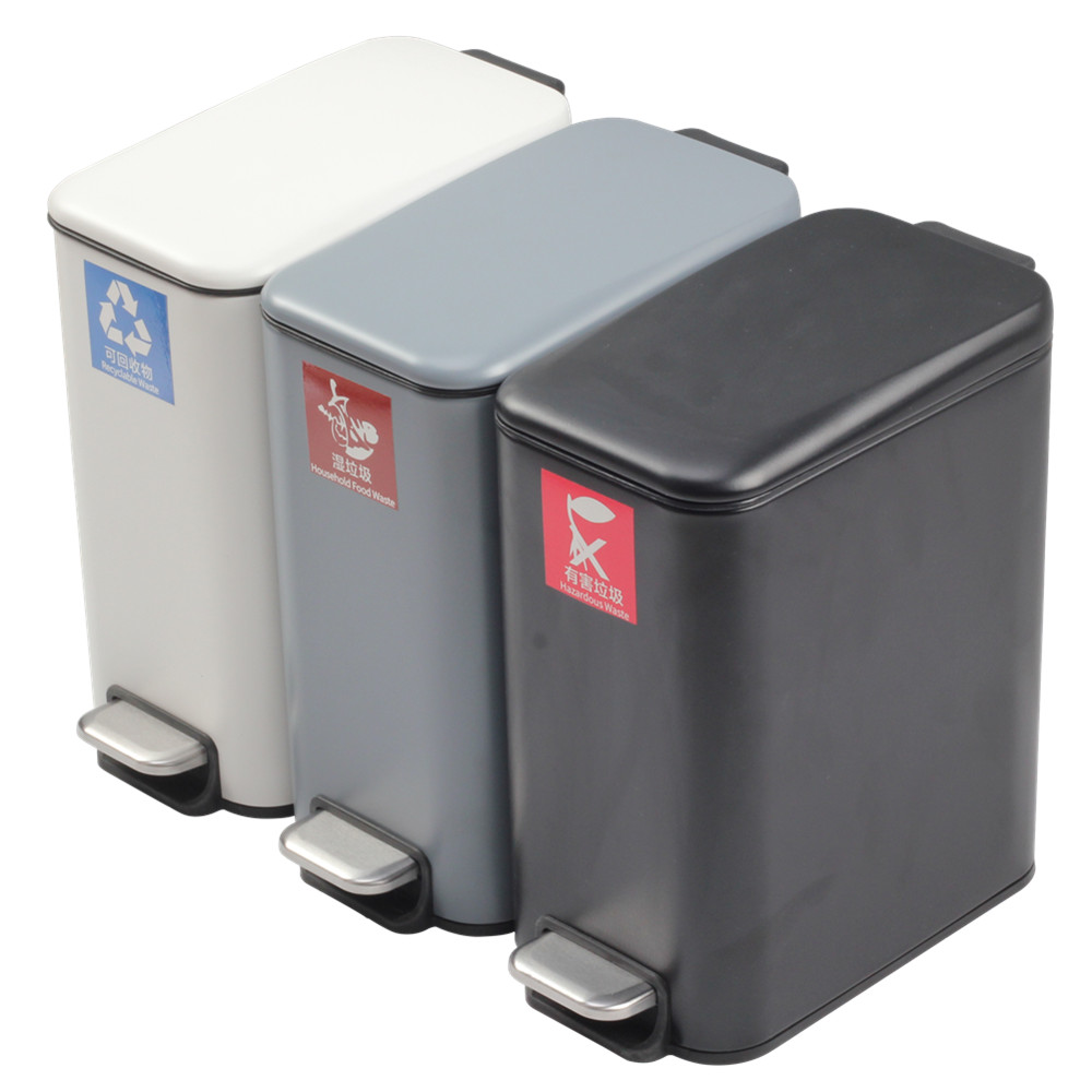 Refuse Classification Trash Can For Office