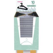 Пластиковая вешалка с картонной коробкой 10 шт. / Комплект с бумажной втулкой