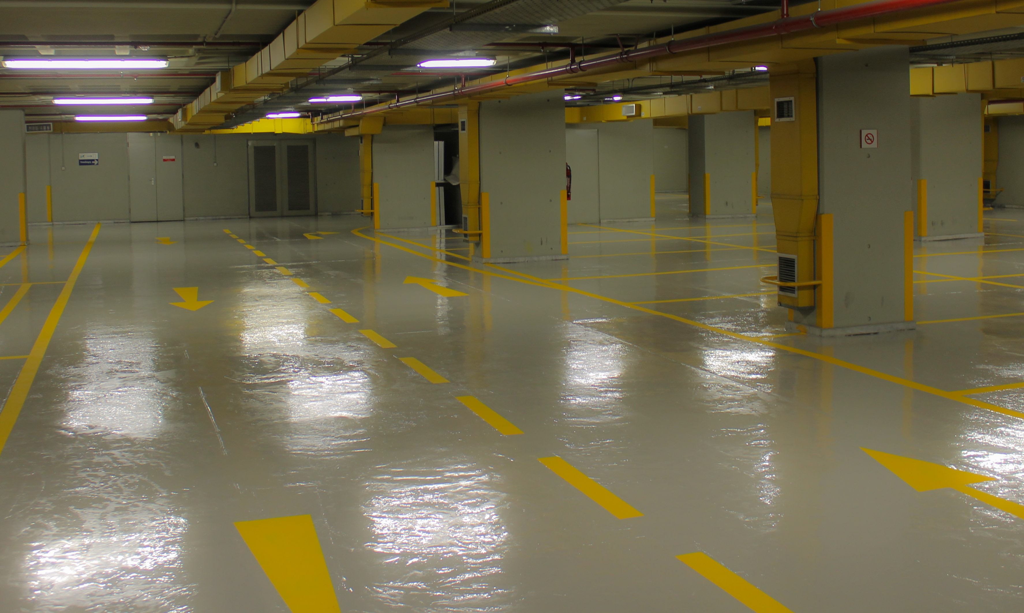 Polyurethane Mortar Floor Coating