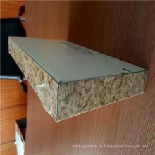 Revestimiento de PVDF de color de piedra Paneles de revestimiento de pared de panal de aluminio