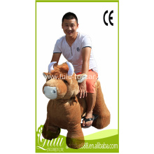 plush riding toy car