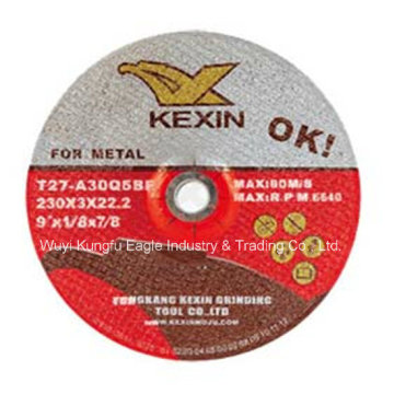 """Abrasive Grinding Disc for Steel/Metal 9""""X1/8""""X7/8"""""""