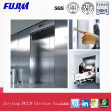 Hairline Stainless Steel Stretcher Hospital Elevator Residential Lift