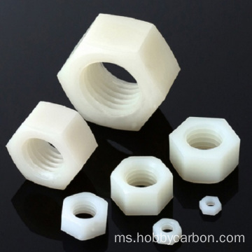 Customized CNC machining high precision nylon nut