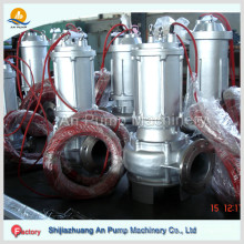 Bomba de água submersível de esgoto Bomba de água de irrigação agrícola