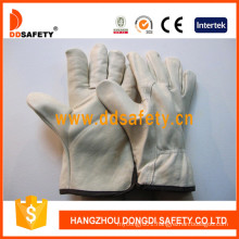 Cow Grain Leather Driver Gloves Dld211