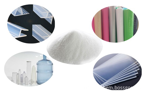 transparent processing aid for pvc products