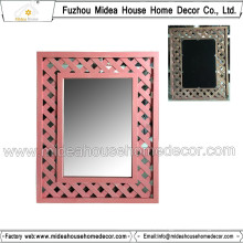 Vintage Wooden Wall Decorative Mirror