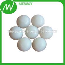 Personalizar la alta calidad y la bola de goma blanca barata 5m m