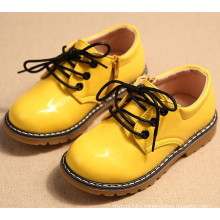 new kid pu leather children shoes for girls and boys