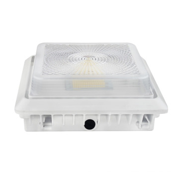 New design 2nd Generation High CRI Wholesale 125LM/W 55W LED Parking Garage light