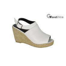Женские босоножки PU Espadrille Wedge Sandals