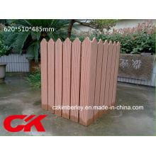 Plástico de madeira de alta qualidade Composto WPC Flower Box