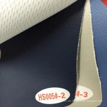 Cuero de tapicería flocado para cojín de sofá (HS005 #)