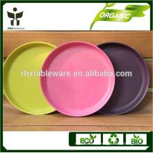 eco-friendly organic feature natural plant fiber type dinnerware set