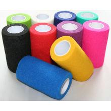 wholesale Self Adhesive Non-woven Elastic Cohesive Bandage
