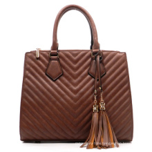 Fashion Woman Lady Classic PU Leather Tote Handbags