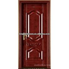 New Style High Performance Steel hölzernen Innenraum Tür König-07 für China am besten verkaufen