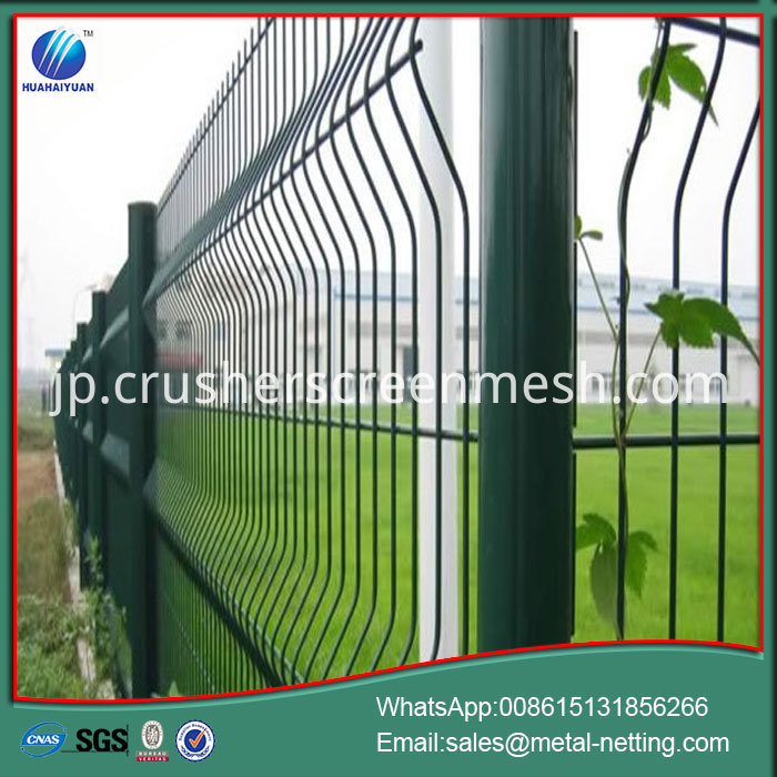 3D Wire Fence Barrier