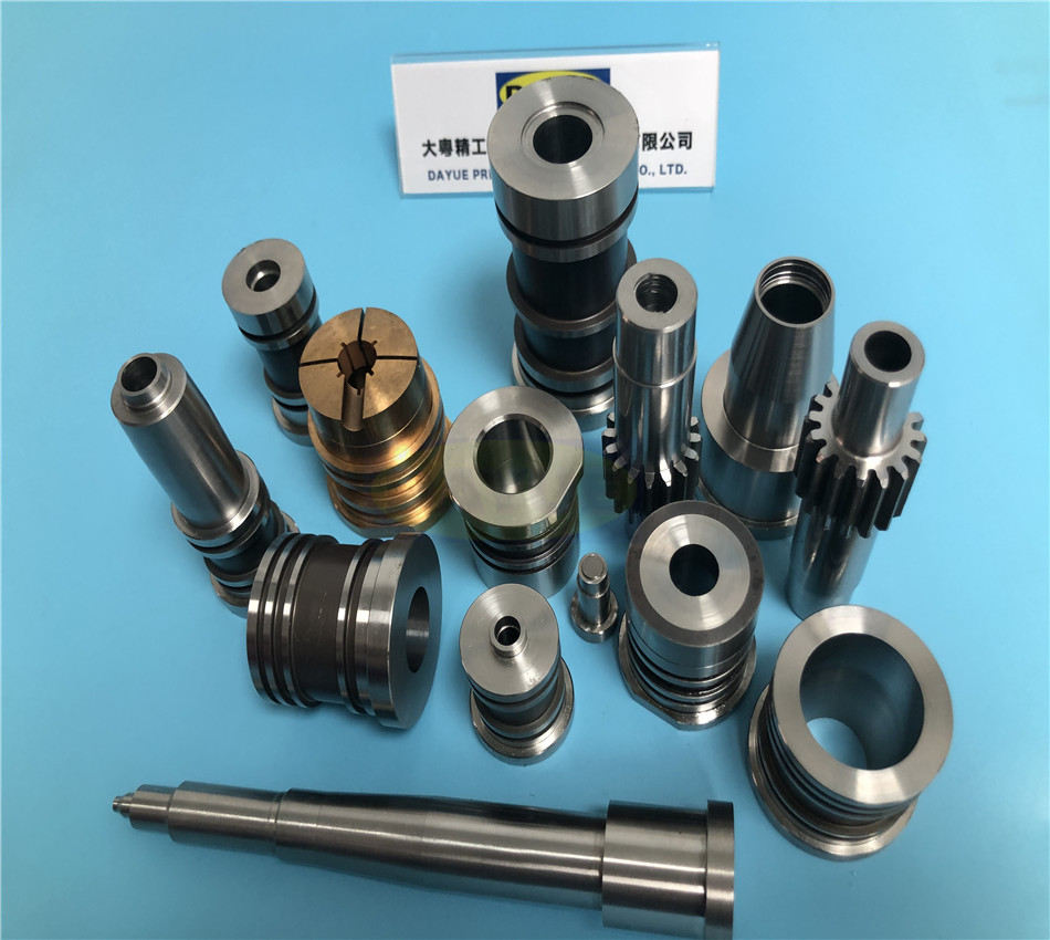 PET preform mold Components