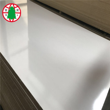 4x8ft plain mdf raw / mdf melamine board