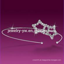 Headband branco dobro da estrela do diodo emissor de luz para mulheres
