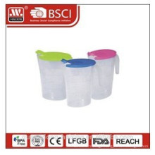Hot-sell plastic water jug with lid(2L)