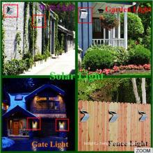 New Patent New Design Mention Sensor Solar Home Light Ce RoHS