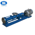 G stainless steel single grout water screw pump