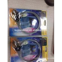 Câble de sécurité pour ordinateur portable Verrouillage / verrouillage de câble avec deux touches / avec des chiffres