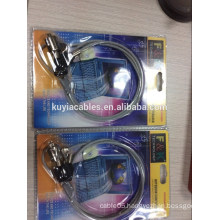 Laptop Notebook security wire Lock/cable lock with two keys /with numbers