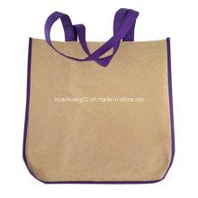 O costume imprimiu o saco de compras não tecido / saco da propaganda / saco Opg097 da promoção