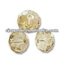 Бусины Rondelle оптом с кристаллами 6 мм