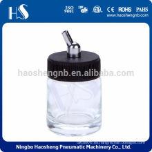 HSENG HS-G2 22cc botella de vidrio aerógrafo