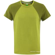 Fashion Two Tone Blank Cotton Woman T-Shirt