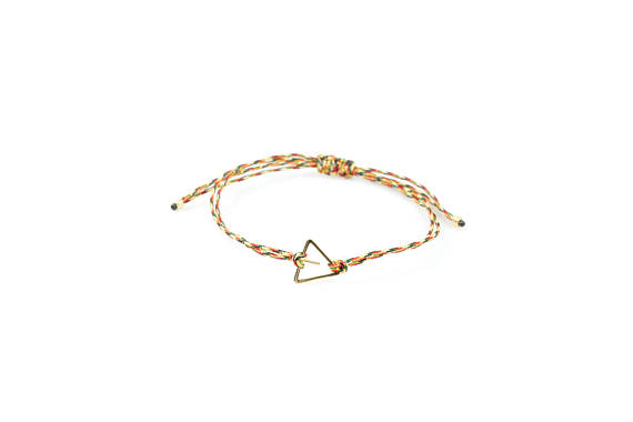 il_570xN.18K Gold Plated Stainless Steel Triangle Rope Bracelets