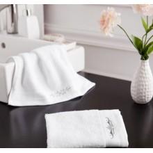 Canasin 5 Sterne Hotel Handtücher Luxus White Stickerei