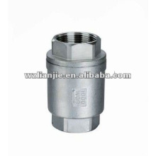 Vertical Screw End Stainless Steel Check Valve