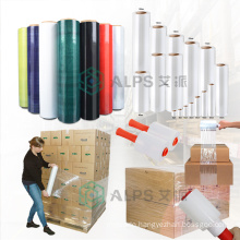 Alps Manufacturer Wholesale Wrapping Handle  Manual Wrap Film Stretch Film Jumbo Roll for Pallet