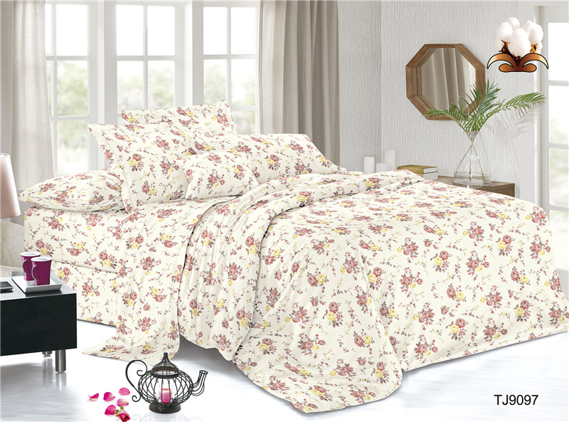 Polyester Voile Dobby Bedding Set Sheet