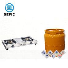 Lpg Gas Cylinder Steel Prices 2kg/3kg/5kg/6kg Camping Use Bottled Size and Colour Low
